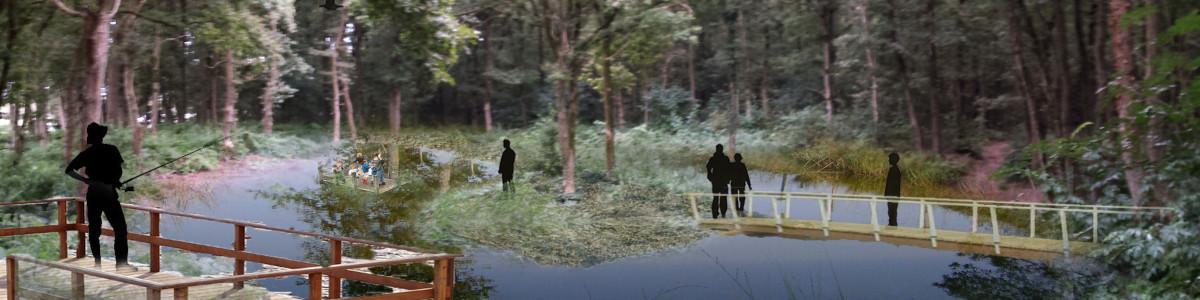 Landschapsprojecten variëren van renovatie van bestaand openbaar groene ruimtes tot volledig landschapsontwerp.