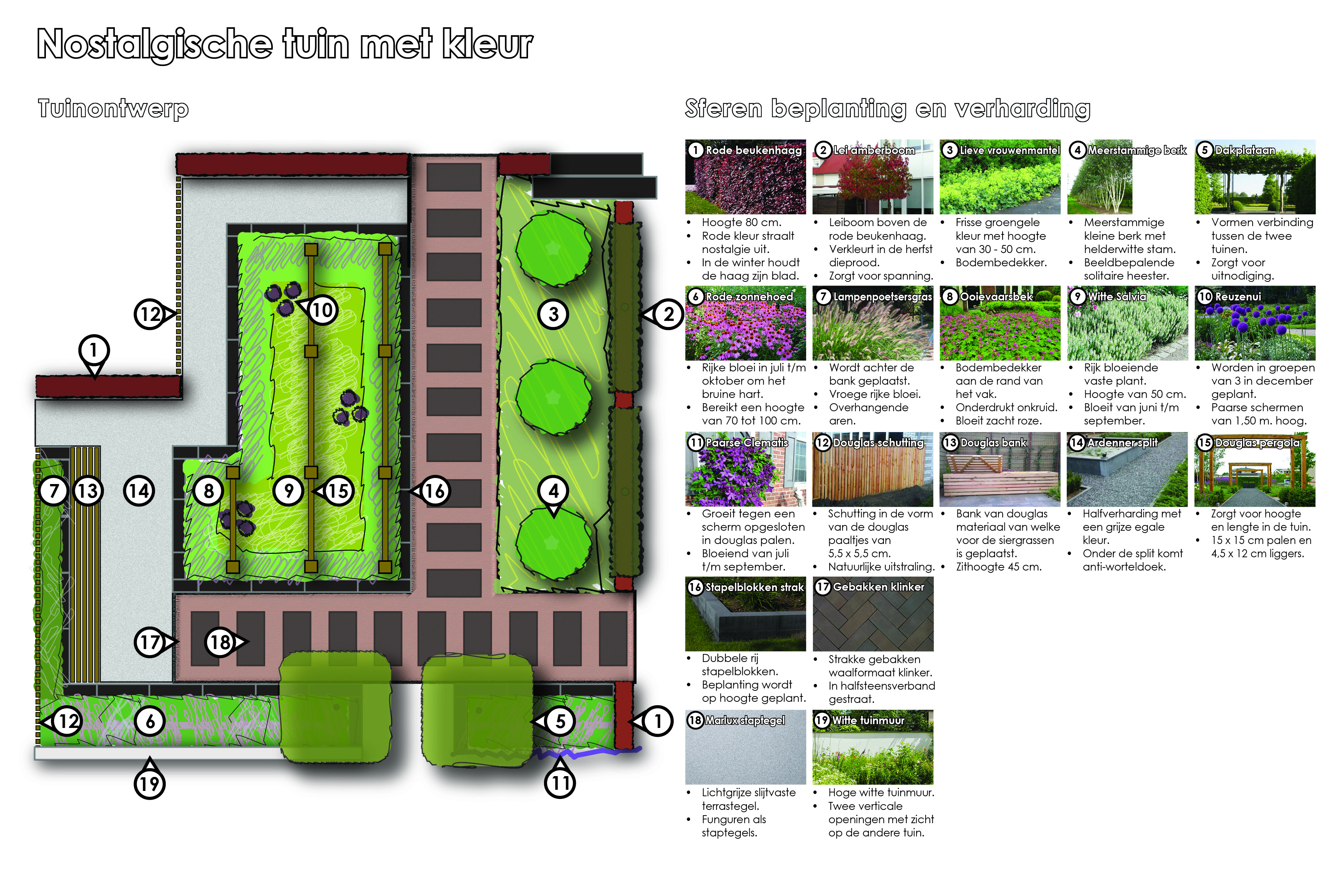 Sfeer nostalgische tuin met kleur twan 39 s landschaps en tuinadvies l ontwerp begeleiding - Kleur sfeer ...
